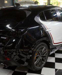 Dán tem ghép Mazda 3