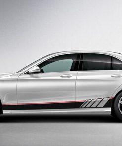 Mẫu dán tem xe oto đẹp Mercedes C300