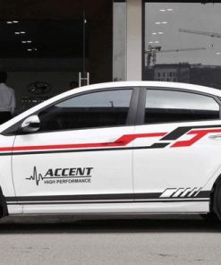 Dán tem xe oto đẹp giá rẻ Huyndai Accent