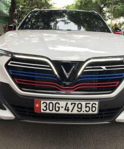 Dán Tem xe ô tô đẹp Vinfast LuxSA2.0