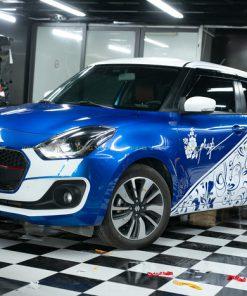 Dán tem xe ô tô đẹp Hà Nội Suzuki Swift