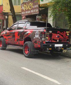 Dán tem trùm xe bán tải Ranger