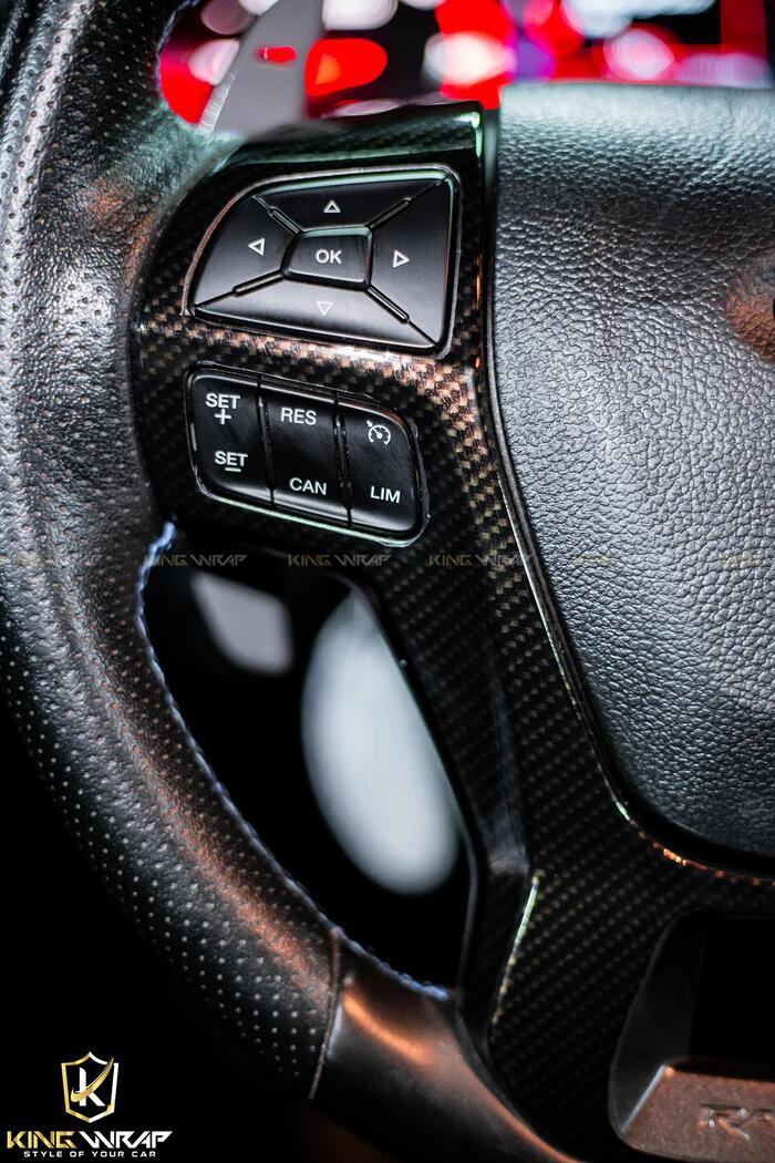 Dán nội thất carbon Mazda