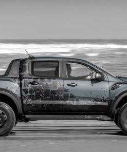 tem sườn xe Ford Raptor xi măng