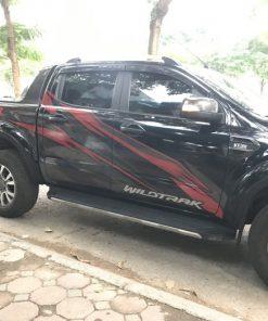 Mẫu tem dán xe ô tô đẹp Hoàng Mai