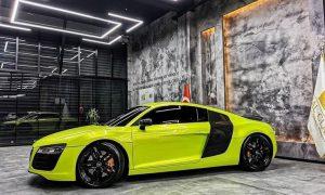 Dán decal đổi màu xe Audi - Mã màu RB07 Teckwrap