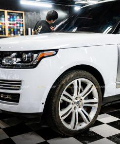 Dán decal đổi màu Range Rover đen sang trắng CG02 Sh