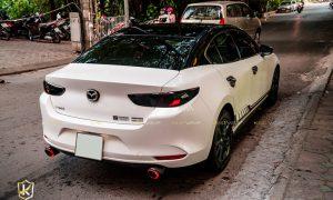 Mazda 3 dán đổi màu maybach nửa trên CG01 SH TeckWrap