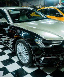 Dán decal đổi màu oto Maybach Audi A6