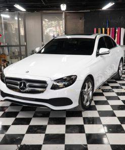 Dán đổi màu ô tô Mercedes E250