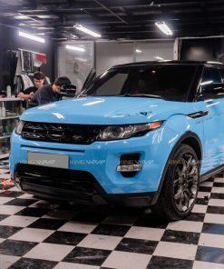 Dán đổi màu ô tô RangeRover Evoque Blue CG05