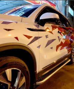 Dán tem xe ô tô đẹp BAIC BEIJING X7