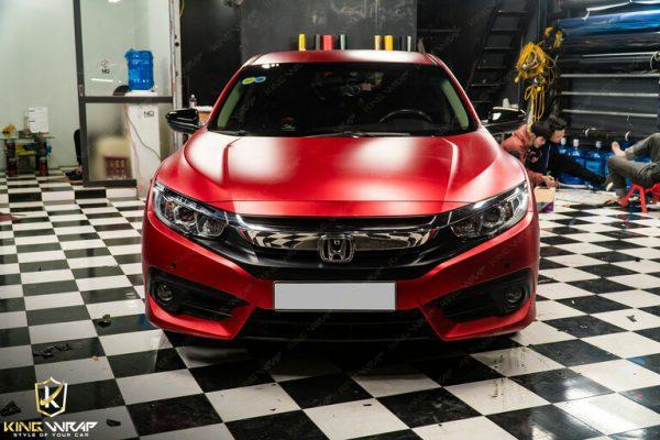 Dán decal đổi màu xe oto Honda Civic