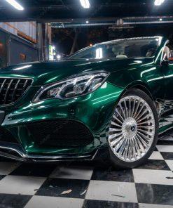 Dán decal đổi màu ô tô siêu phẩm Mercedes E400