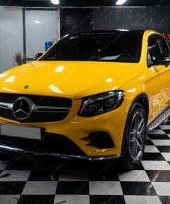 Dán decal đổi màu ô tô đẹp giá rẻ tại Hà Nội Mercedes GLC300