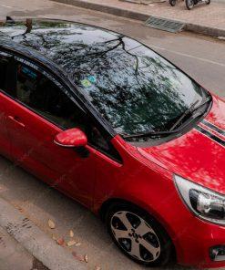 Dán decal nóc xe oto đẹp giá rẻ tại Hà Nội KIA RIO