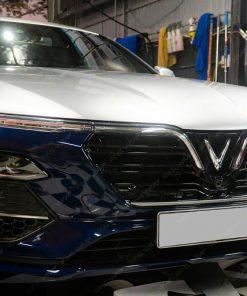 Dán decal Maybach đổi màu xe oto Lux A2.0