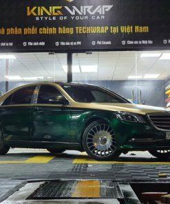 Dán decal đổi màu oto Mercedes S450 style Maybach