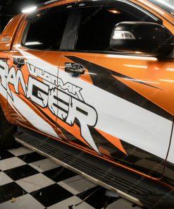 Dán tem xe oto Ford Ranger đẹp giá rẻ