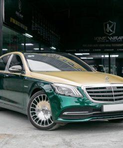 Dán decal xe oto đẹp giá rẻ tại Hà Nội style Maybach Mercedes S450