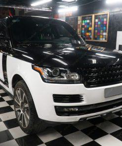 Dán decal đổi màu oto tại Hà Nội Range Rover