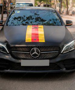 Decal ô tô đẹp giá rẻ tại Hà Nội Mercedes C300
