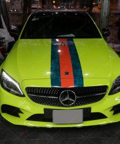 Decal ô tô đẹp giá rẻ tại Cầu Giấy Mercedes C300