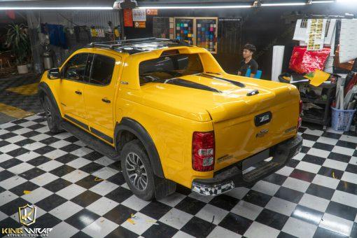 Decal dán xe oto tại Hà Nội Chevrolet Colorado