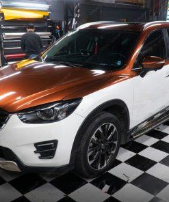 Decal dán xe ô tô đẹp giá rẻ tại Hà Nội Mazda CX5