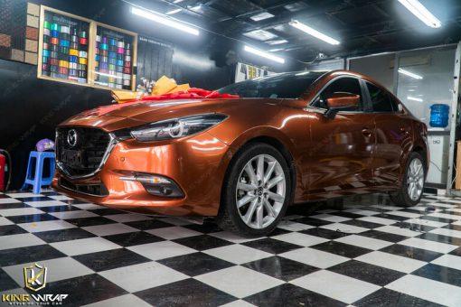 Decal dán xe oto đẹp giá rẻ tại Cầu Giấy Mazda 3