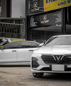 Decal dán xe oto Cặp đôi Vinfat LuxA2.0