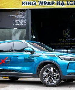Dán decal tem xe ô tô BAIC Beijing X7