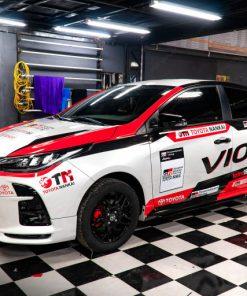 Dán tem trùm Toyota Vios tại sao không?