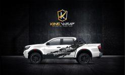 Top 10 mẫu tem xe bán tải siêu hót tại Kingwrap