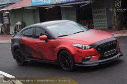 Độc đáo với mẫu tem trùm Mazda siêu chất
