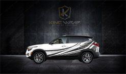 Những mẫu tem xe ô tô Kia Seltos siêu sang