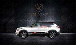 Top mẫu tem xe ô tô Kia Seltos siêu ấn tượng
