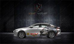 Mẫu tem xe ô tô siêu hót Mazda3