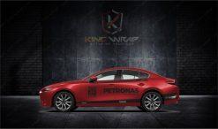 Những mẫu tem xe ô tô Mazda3 siêu ngầu