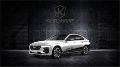 Những mẫu tem xe ô tô Vinfat LuxA2.0 đầy ấn tượng