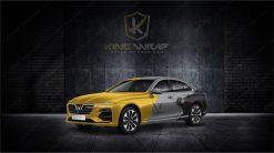TOP mẫu tem sườn ô tô Vinfat LuxA2.0 siêu đẳng cấp