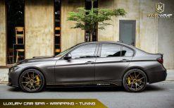 Dán decal đổi màu Xám siêu bóng BMW320