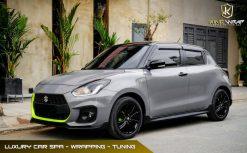 Suzuki Swift dán decal đổi màu oto Ghi Bóng